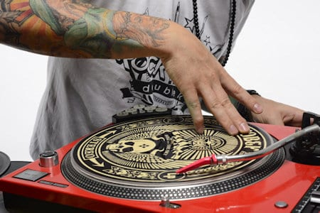 Learn how to scratch as a DJ