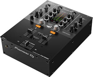 Pioneer djm 250 mk2 review front angle
