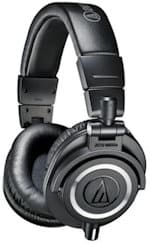 best dj headphones Audio-Technica ATH-M50 x djing