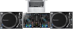 best dj setup for beginners dvs hybrid setup