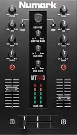 numark mixtrack pro 3 review mixer section features