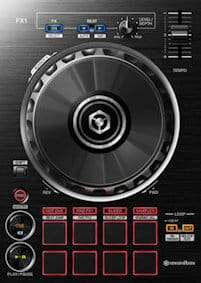 pioneer ddj rb deck section jogs