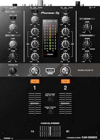 pioneer dj djm-250 mk2 DJ review mixer