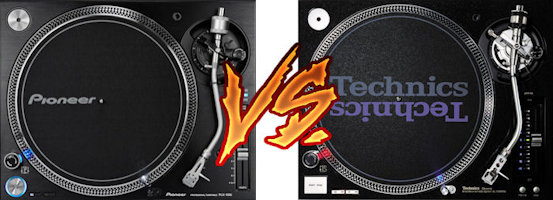 pioneer plx 1000 VS technics sl 1210 and 1200