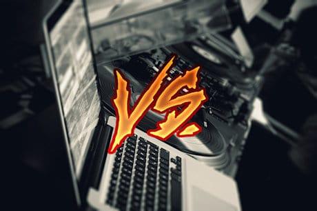 DJing vinyl vs digital djing DJ's