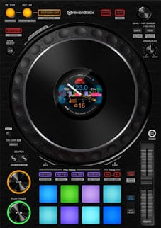 pioneer ddj-1000 controller review deck section