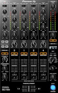 pioneer ddj-1000 controller review mixer section digital