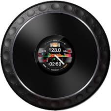 pioneer ddj-1000 review jog wheel display