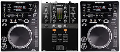 using dj mixing decks
