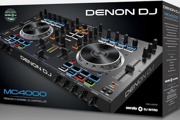 Denon DJ MC4000 box