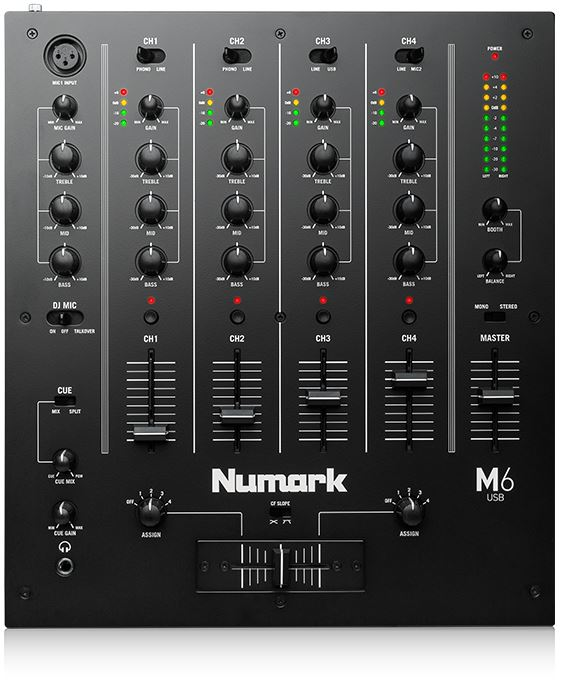 Numark M6 mixer main