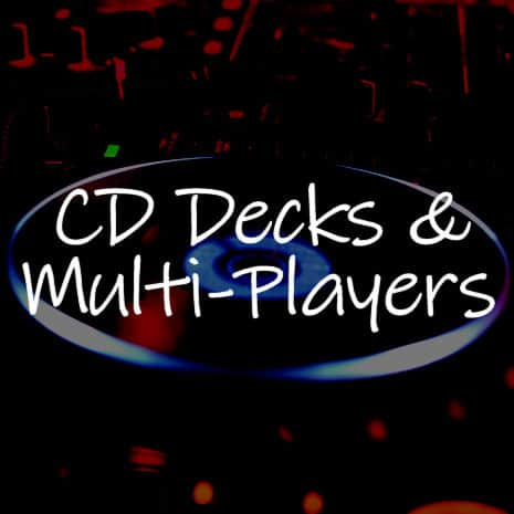 cd decks and multi players