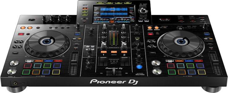 pioneer dj xdj rx2 all in one 2 channel dj controller djing pro. Black Bedroom Furniture Sets. Home Design Ideas
