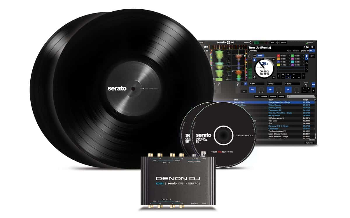 DS1 Denon Serato Digital Vinyl Audio