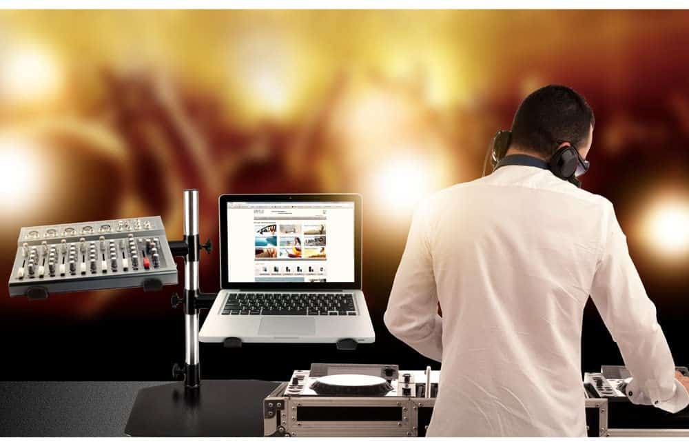 Is a DJ Laptop Stand Neccesary
