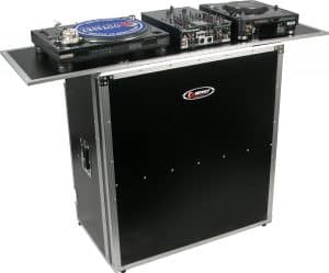 DJ table for heavy equipment