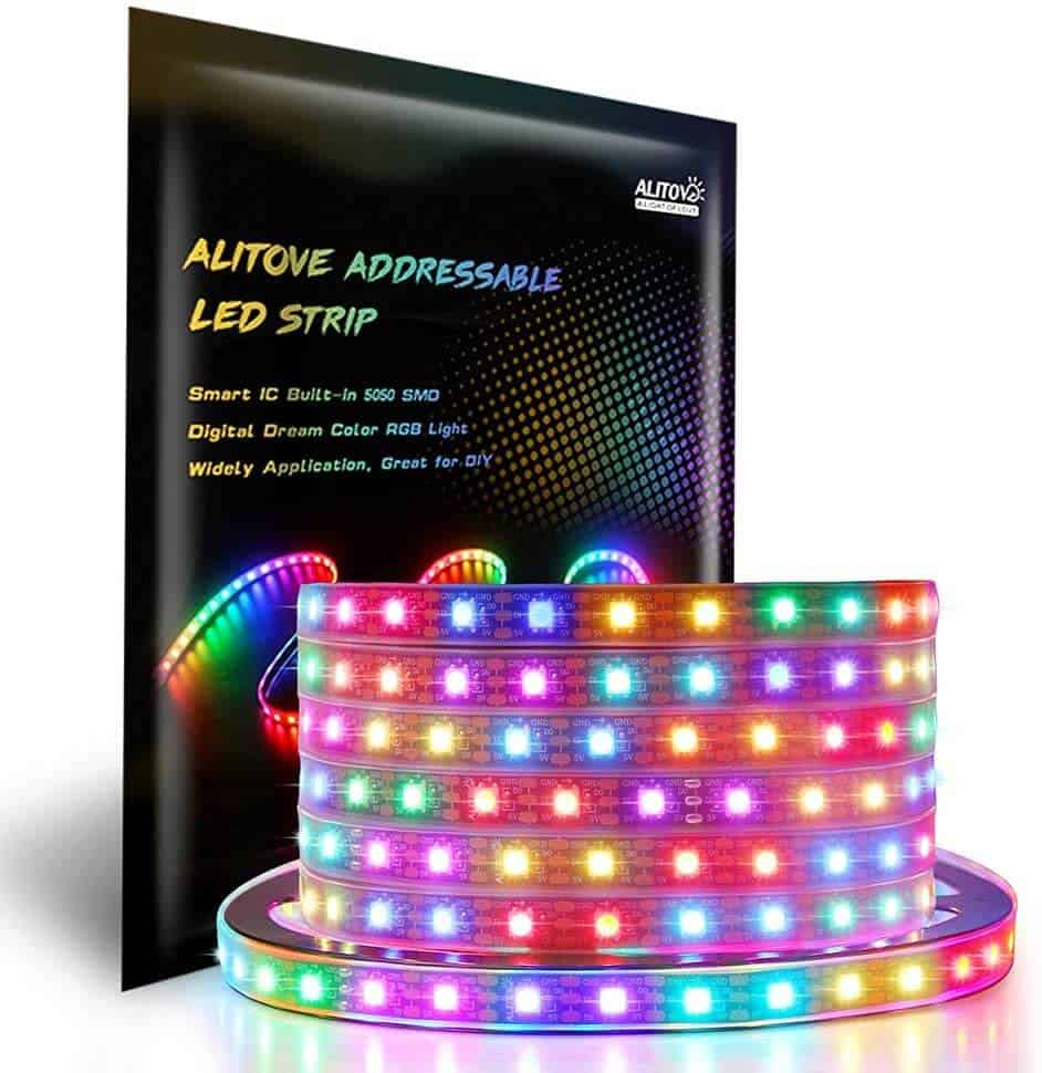 Addressable LED light strips and Music Controller1