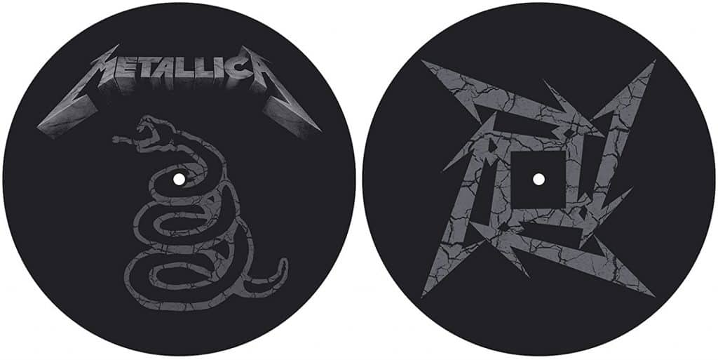 Metallica The Black Album Turntable Slipmat Set