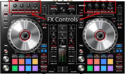 Pioneer DDJ-SR Controller FX Controls