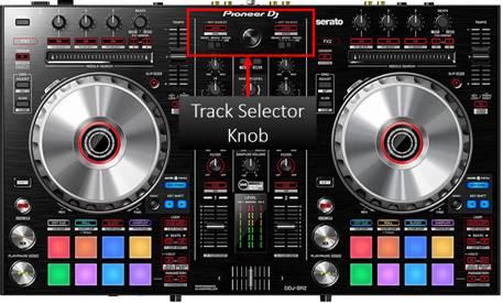 Pioneer DDJ-SR Controller Track Selector Knob