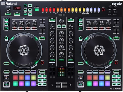 DJ 505 Layout