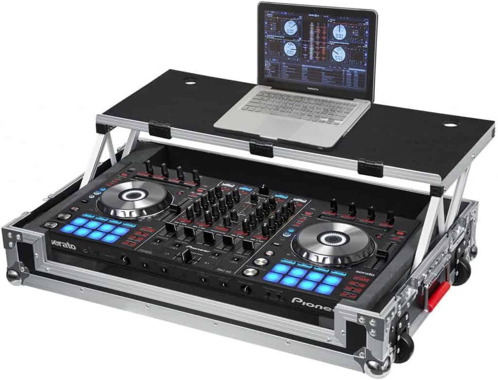 Gator Cases G-TOUR Series DJ Controller Road Case with Sliding Laptop Platform