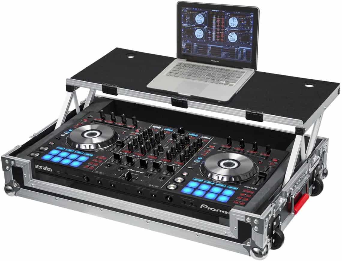 Gator Cases G-TOUR Series DJ Controller Road Case with Sliding Laptop Platform