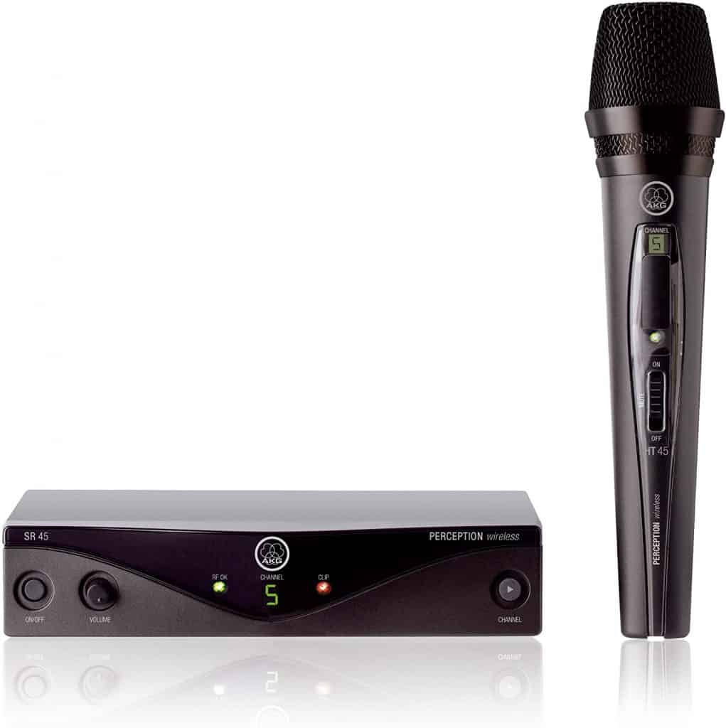 AKG WMS45 Perception Wireless Vocal Microphone System