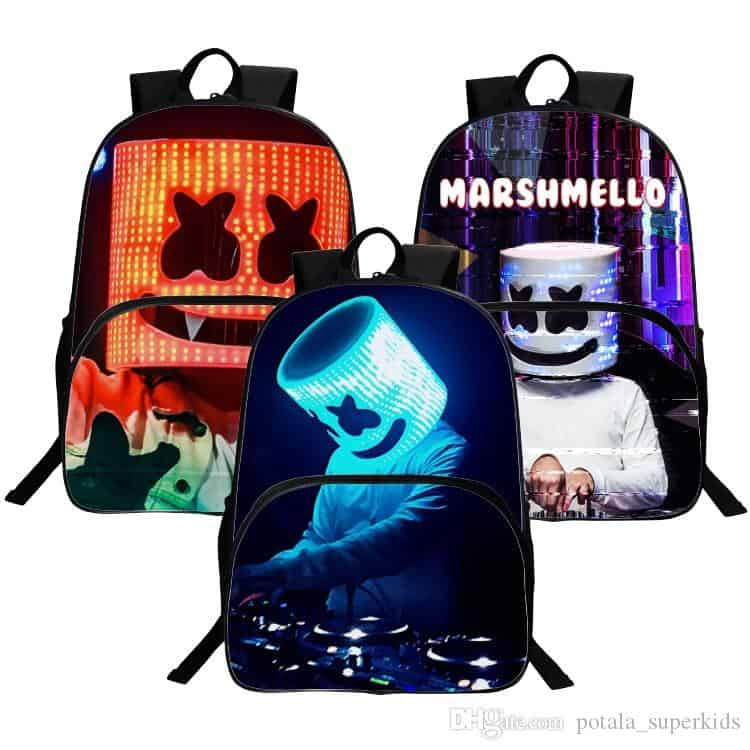 DJ Backpack Marshmallow Multifunction School Bag