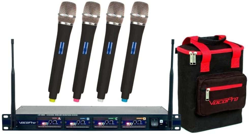 Vocopro UHF-5800Wireless Microphone System