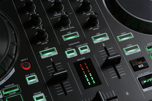 Roland, Black, Two-Channel, Four-Deck with Serato DJ Pro