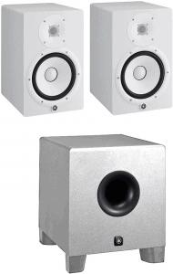 Yamaha HS8 W 8-Inch Powered Studio Monitor Speaker White