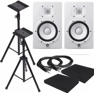 Yamaha HS8W 8-Inch Powered Studio Monitor Speaker White