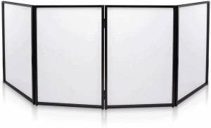 Pyle PDJFAC10 DJ Booth Foldable Cover Screen