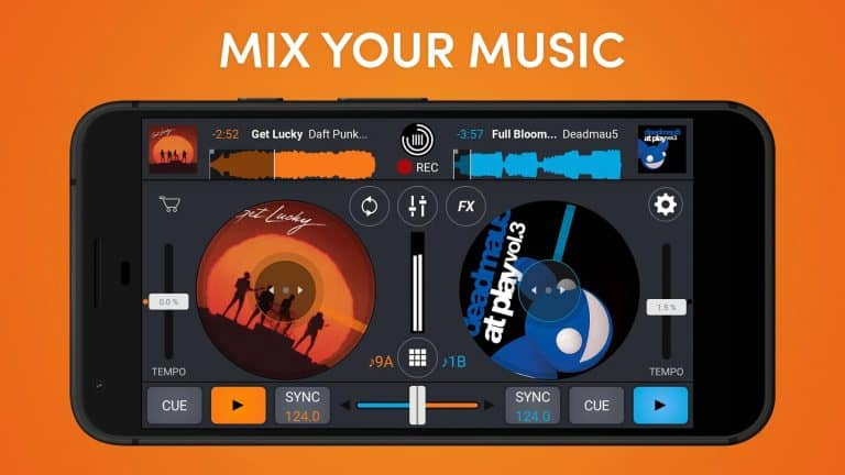 cross DJ android app review