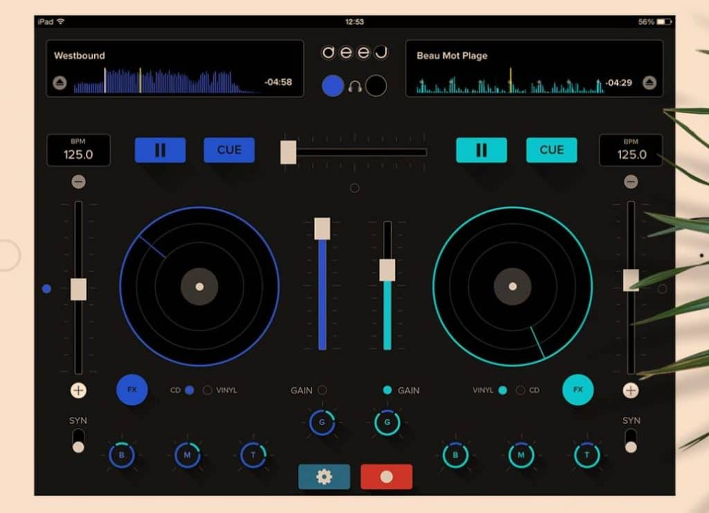 iphone app for djing for beginners